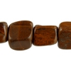 "Nugget 8X12-9x14 2X8"" Strand Tiger Eye Brown"